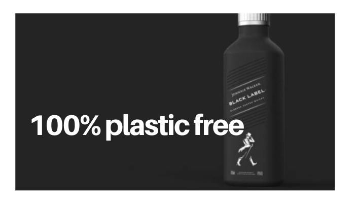 100% plastic free