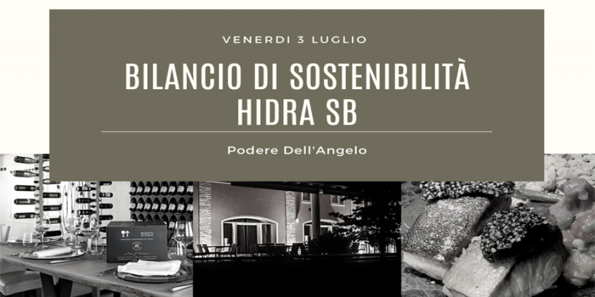 Il Primo Bilancio di Sostenibilità HIDRA SB
