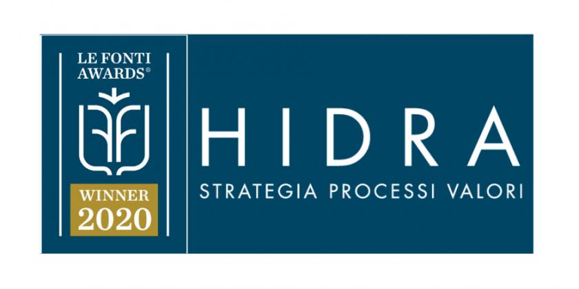 HIDRA SB premiata da Le Fonti Awards
